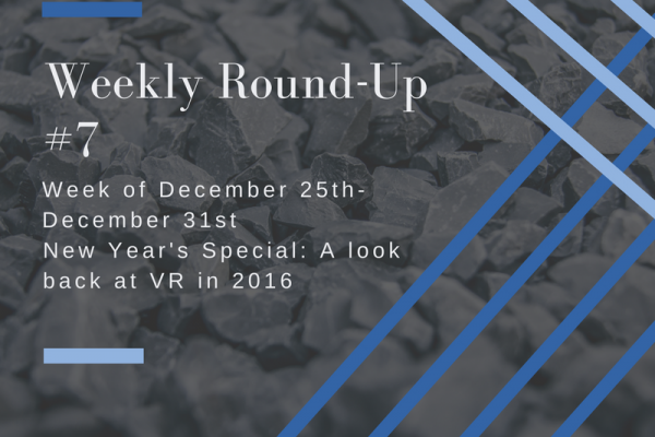 Weekly Round-Up 7