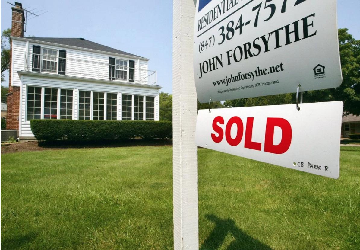 Sold Sign Real Estate Market