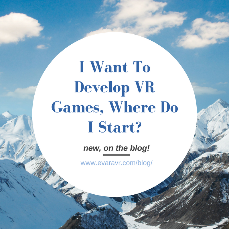 Where to Start in Virtual Reality