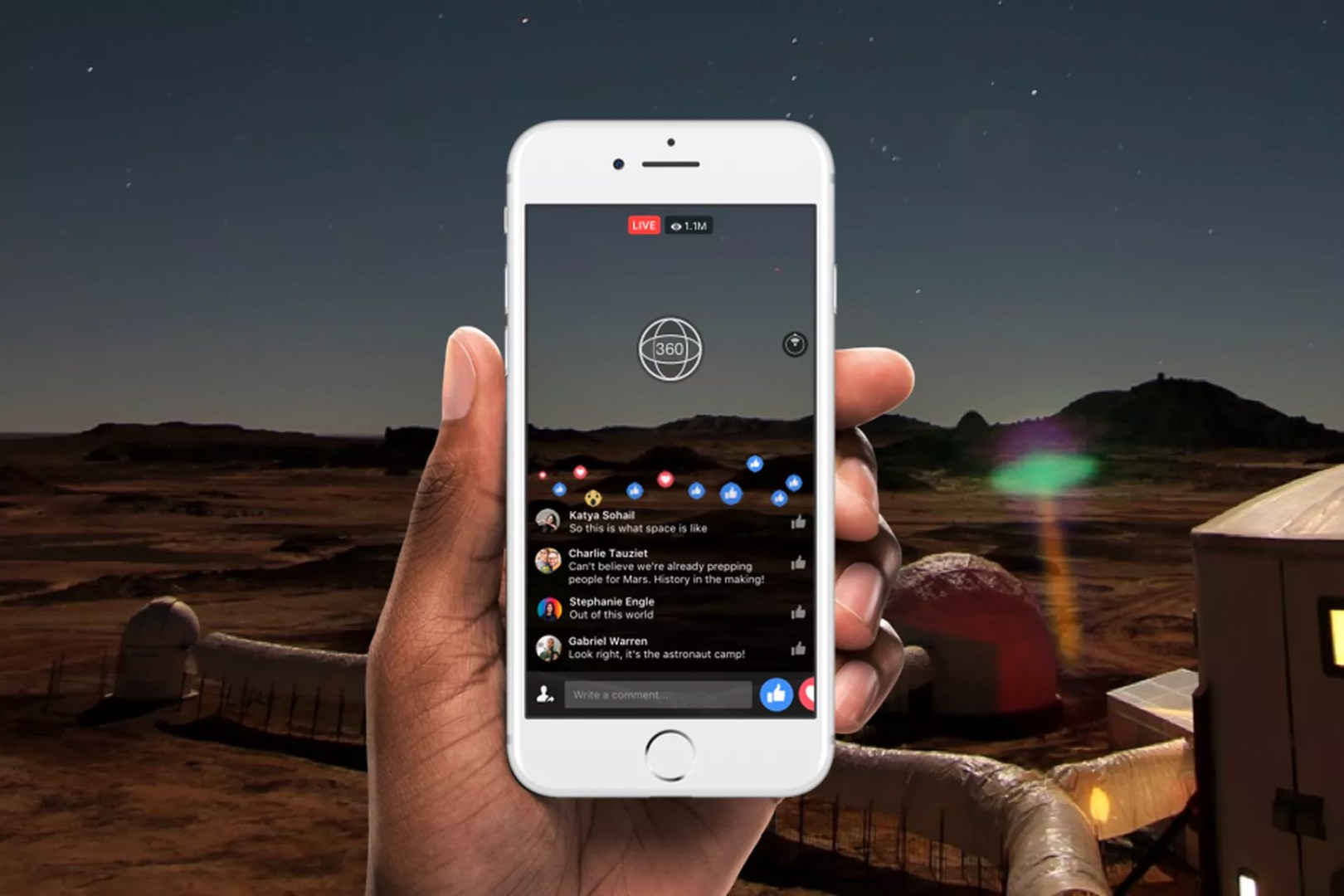 Live 360 Facebook Video