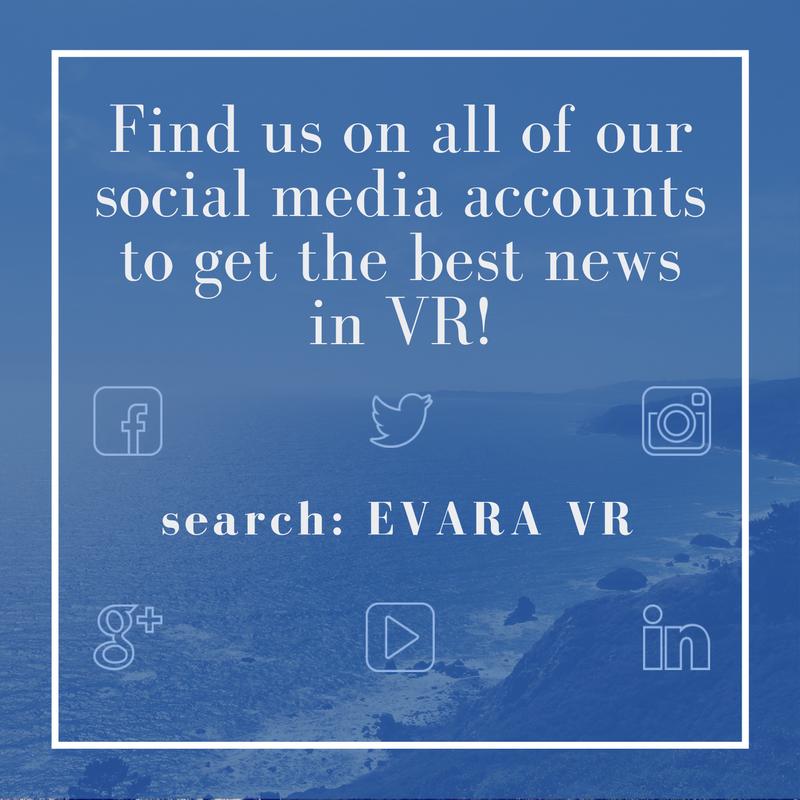 Evara VR Social Media Accounts